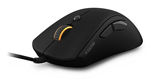 Fnatic Gear Flick optische Pro Gaming-Maus (6 Tasten, ergonomisch, Pixart Sensor) schwarz