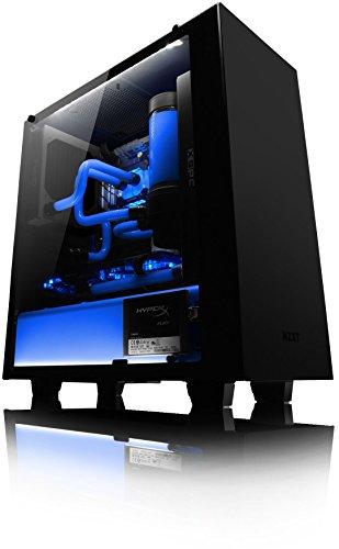 VIBOX Hardline GL780T-72 Komplett-PC Paket Gaming PC - 4,5GHz Intel i7 Quad Core CPU, GTX 1080 Ti, leistungsfähig, Wassergekühlter Desktop Gamer Computer mit Spielgutschein, 28
