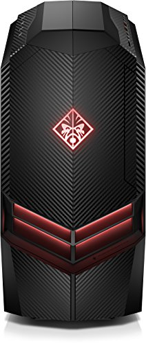 HP Omen 880-057ng Desktop PC (Intel Core i7-7700K, 32 GB RAM, 3 TB HDD, 512 GB SSD, NVIDIA GeForce GTX 1080, Windows 10 Home 64) schwarz