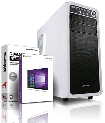 shinobee Gaming-PC AMD FX-6100 6x 3.90GHz - nVidia GeForce GTX1060 - 8 GB DDR3 1600 - 1TB HDD - Windows 10 - DVD RW - Gamer PC - Gaming Computer - Desktop PC - Gamer Computer - #5489