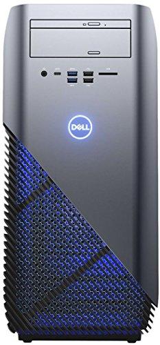 Dell Inspiron 5675 Desktop (AMD R5-1400 4C8T, 8GB RAM, Dual Festplatte: 256GB/1TB, AMD RX580 8GB, W10) silber