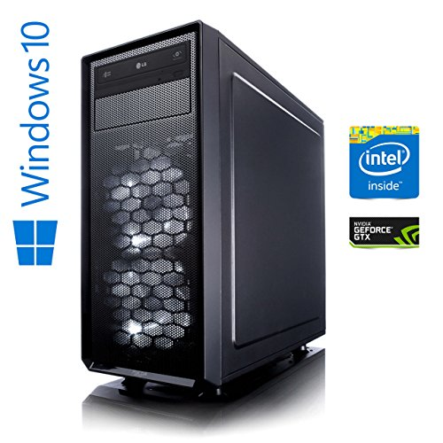 Memory PC High End Gaming Computer Intel Coffee Lake i7-8700K 6x 3.7 GHz | ASUS Prime Z370-P | 16 GB DDR4 RAM | 250 GB SSD + 1000 GB HDD | NVIDIA GeForce GTX 1070 8GB 4K | Gamer Workstation Gaming-PC