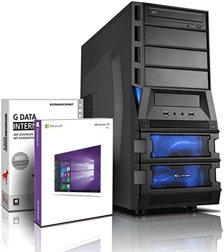 Ultra 6-Kern DirectX 12 Gaming-PC Computer FX 6100 6x3.90 GHz Turbo - GeForce GT1030 2GB DDR5 - 8GB DDR3 1600 - 500GB HDD - Windows10 Prof - DVD±RW #5472