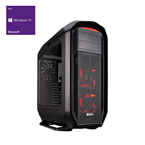 one Silent High-End Gaming-PC Intel Core i7-7700K, 4x 4.20 GHz | Corsair H80i Wasserkühlung | 32 GB DDR4 2133 MHz RAM | 250GB SSD/2000GB HDD | Mainboard MSI Z270-A Pro | BLU-RAY Brenner | 8 GB NVIDIA GeForce GTX 1080 | GigaBit-LAN | USB 3.0 | Windows 10 Pro 64-Bit