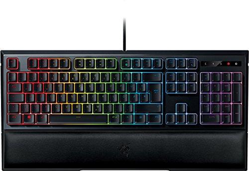Razer Ornata Chroma Gaming Tastatur (mit den Mecha-Membran Tasten, Chroma RGB Beleuchtung und Ergonomischen Design mit Handballenauflage)