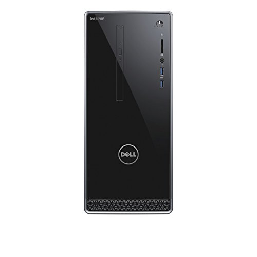 Dell Inspiron 3668-1684 Mini Desktop PC (Intel Core i7-7700, 1000GB Festplatte, 128GB SSD, 8GB RAM, Nvidia GeForce GTX 1050, DVD-RW Laufwerk, Win 10 Home) schwarz