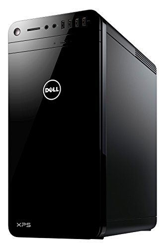 Dell XPS Gaming Desktop PC - (Black) (Intel i7-7700K OC, 16GB RAM, 256GB SSD Plus 2TB HDD, NVIDIA GTX 1080 8GB Graphics, Windows 10 Home)