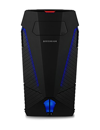 Medion Erazer X5338 F Desktop-PC (Intel Core i7-1790K, 16GB RAM, 4TB HDD, 240GB SSD, Nvidia GeForce GTX 980 4GB GDDR5 Speicher, Windows 10 Home)