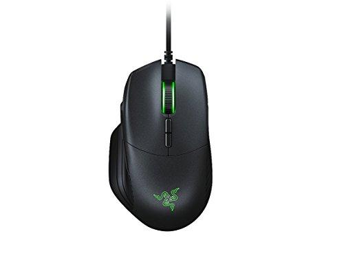 Razer Basilisk - Ergonomische FPS Gaming Maus (Abnehmbare DPI-Schaltung, Anpassbarer Mausrad-Widerstand, Optischer 5G-Sensor mit 16.000 DPI, Mechanische Maus-Schalter & Razer Chroma RGB)