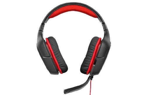 Logitech Gaming Headset G230 Stereo Black/Red, 981-000540 (Black/Red)