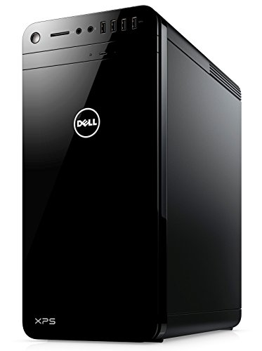 Dell XPS 8920 Gaming Desktop PC - (Black) (Intel Core i5-7400, 8 GB RAM, 2 TB HDD, NVIDIA GTX 1060 6 GB Graphics Card, Windows 10 Home)