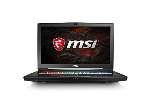 MSI GT73eVR 7RF Titan Pro 17.3-Inch 1035UK Gaming Laptop - (Black) (Intel Core i7-7700HQ 2.8 GHz, 16 GB RAM, 256 GB SSD Plus 1 TB HDD, GeForce GTX 1080, Windows 10 Home)