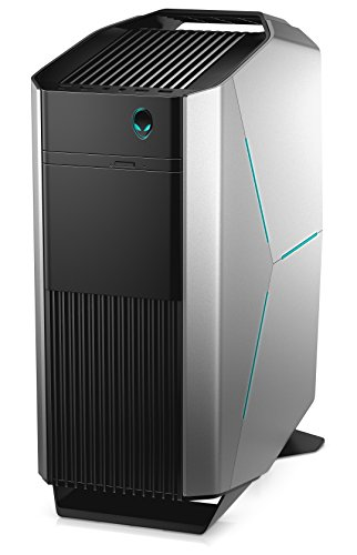 Alienware Aurora R6 Gaming Desktop PC - (Silver/Black) (Intel Core i7-7700K, 32GB RAM, 256GB SSD Plus 2TB HDD, 2x NVIDIA GTX 1070 8GB Graphics, Windows 10 Home)