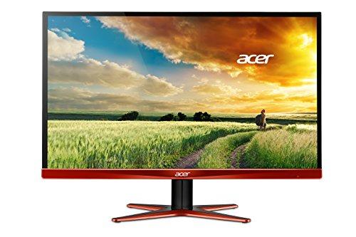 Acer Predator XG270HUA 69 cm (27 Zoll) eSports Monitor (DVI, HDMI, Displayport, 1ms Reaktionszeit, WQHD 2560 x 1440, AMD FreeSync, EEK B) schwarz/orange
