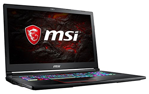 MSI GE73VR 7RF-042DE Raider (43,9 cm/17,3 Zoll/120Hz) Gaming-Notebook (Intel Core i7-7700HQ, 16GB RAM, 256 GB SSD +  1 TB HDD, Nvidia GeForce GTX 1070, Windows 10 Home) schwarz GE73