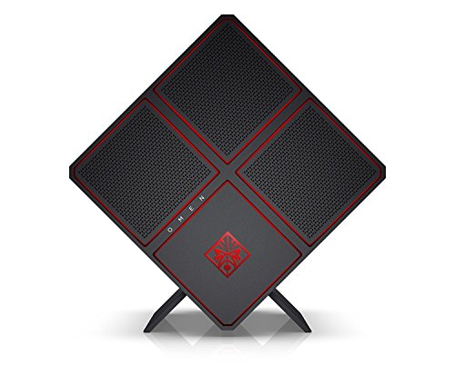 OMEN X by HP 900-045na Gaming Desktop PC (Intel Core i7-6700K, 32 GB DDR4-2133 SDRAM (4 x 8 GB), 2 TB HDD, 256 GB SSD, AMD Radeon RX 480 4 GB DDR5, Windows 10) - Jet Black