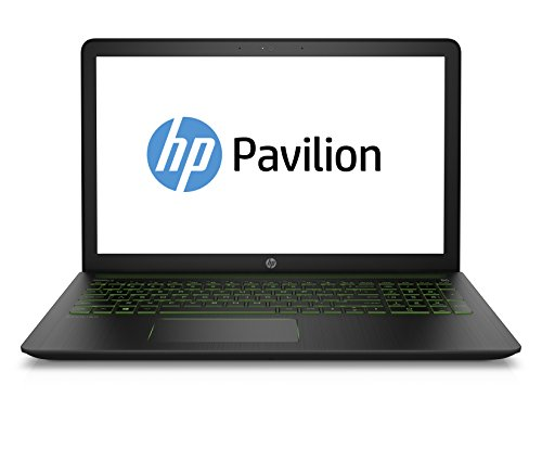 HP Pavilion Power 15-cb004ng 39,6 cm (15,6 Zoll Full HD) Gaming-Notebook (Intel Core i7-7700HQ, 8GB RAM, 1TB HDD, 128GB SSD, NVIDIA GeForce GTX 1050 2 GB DDR5, Windows 10 Home 64) schwarz
