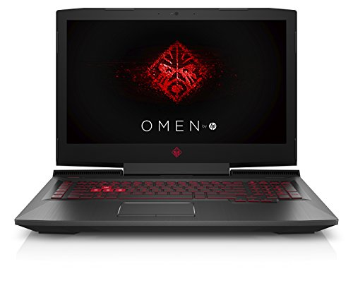OMEN by HP 17-an024ng 43,9 cm (17,3 Zoll / Full HD) Gaming Notebook (Intel Core i7-7700HQ, 16GB RAM, 1TB HDD, 512GB SSD, NVIDIA GeForce GTX 1060, Windows 10 Home 64) schwarz
