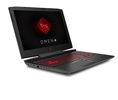 HP OMEN 15-ce013na 15.6-inch FHD Gaming Laptop (Shadow Black) - (Intel Core i7-7700HQ, 8GB RAM, 128GB SSD Plus 1TB HDD, NVIDIA GeForce GTX 1060 Graphics 6GB Dedicated, Windows 10 Home)
