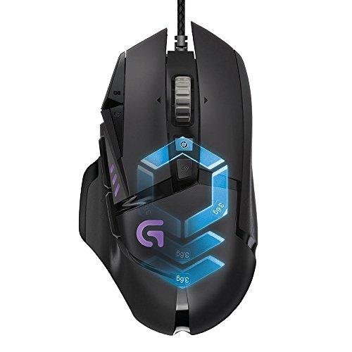 LogitechG502 Gaming Maus ProteusSpectrum (mit RBG Anpassung und 11programmierbaren Tasten)