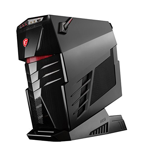 MSI 9S6-B91211-002 Intel Desktop PC (Intel Core i7 7700K, 4024GB Festplatte, 64GB RAM, NVIDIA GeForce GTX 1080 Grafik (8192 MB RAM), Win 10 Home) schwarz