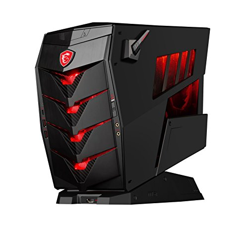 MSI Aegis 3 VR7RC-020DE Gaming-PC (Intel Core i7-7700, Nvidia GeForce GTX1060 6GB, 2 x 8GB DDR4, 256GB SSD, Windows 10 Home) schwarz