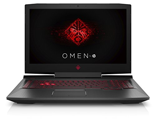 HP OMEN 17-an048ng (17,3 Zoll / Full HD) Gaming Laptop (Intel Core i7-7700HQ, 1 TB HDD, 128 GB SSD, 8 GB RAM, Nvidia GeForce GTX 1050 4 GB, DVD-RW, FreeDOS 2.0) schwarz