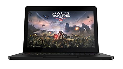 Razer Blade 14-inch 4K-Touch Gaming Laptop (Black) - (Intel i7-7700HQ 3.8 GHz, 16 GB RAM, 256 GB SDD, NVIDIA GeForce GTX 1060, UK Layout, Windows 10)