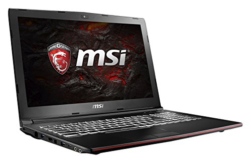 MSI GP62MVR 7RF-400DE Leopard Pro (39,6 cm/15,6 Zoll) Gaming-Notebook (Intel Core i7-7700HQ, 1000GB Festplatte, 16GB RAM, Nvidia GeForce GTX 1060, Windows 10 Home) schwarz GP62
