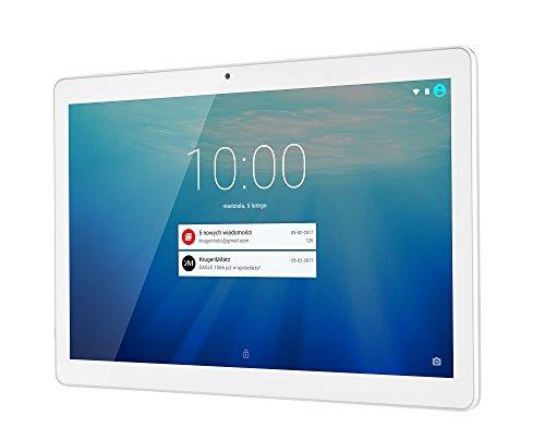 Krüger&Matz KM1066-W  25,65 cm (10,1 Zoll) EAGLE 1066-W Tablet-PC, Android 7.0 Nougat, CPU MT8321, Quad-core, 32 bit, 1,33 GHz, 1 GB RAM, Interner Speicher 16 GB, silber