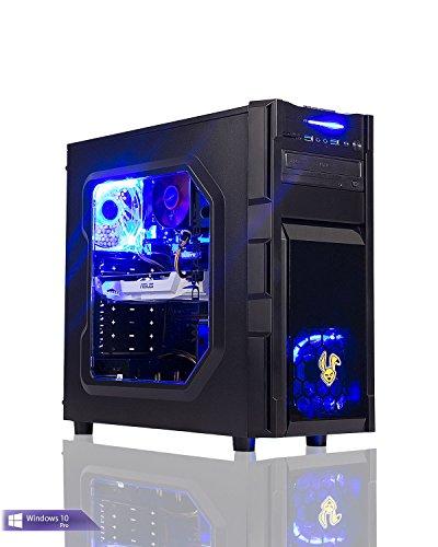 Ankermann-PC GAMING PC, Intel Core i7 7700 4x3,60 KabyLake, GeForce GTX 1050 Ti 4GB, 8GB DDR4 2400, 240GB SSD, Windows 10 Pro, Cardreader 7in1, EAN 4260219657372
