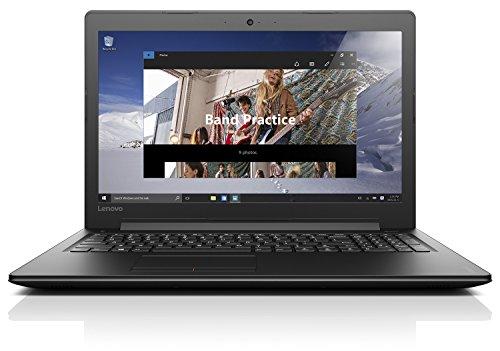 Lenovo ideapad 310 39,62cm (15,6 Zoll Full HD) Notebook (Intel Core i5-7200U, 8GB RAM, 1TB HDD + 128GB SSD, Nvidia GeForce 920MX 2GB, Windows 10 Home) schwarz