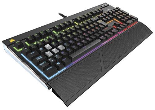 Corsair STRAFE RGB Mechanische Gaming Tastatur (Cherry MX Brown, Multi-Color RGB Beleuchtung, QWERTZ) schwarz