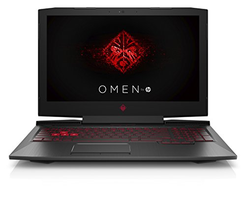 HP OMEN 15-ce018ng (15,6 Zoll / Full HD) Gaming Laptop (Intel Core i7-7700HQ , 1 TB HDD, 8 GB RAM, Nvidia GeForce GTX 1050 2 GB, Windows 10 Home) schwarz