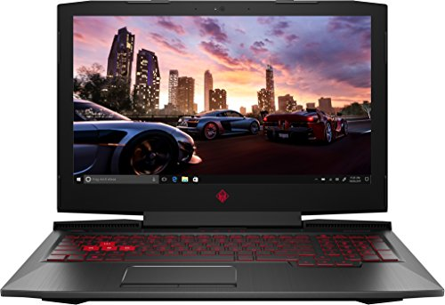 OMEN by HP (15-ce002ng) 39,6 cm (15,6 Zoll FHD-IPS) Gaming Laptop (Intel Core i7-7700HQ, 16 GB RAM, 1 TB HDD, 256 GB SSD, NVIDIA GeForce GTX 1060, Windows 10 Home 64) schwarz