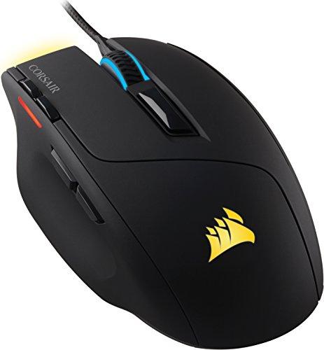 Corsair SABRE RGB Optisch Gaming Maus (RGB-LED-Hintergrundbeleuchtung, 10000 DPI) schwarz