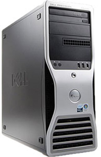 Gaming PC Dell Precision T3400 Core 2 Duo E8400 3.0GHz 4GB WiFi DVD GTX 1050 Windows 10 64bit
