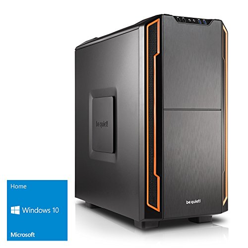 Kiebel [184378] Silent Gaming-PC Intel i7-7700 (4x3.6GHz) | 16GB DDR4 | 256GB M.2 SSD + 1TB HDD | NVIDIA GeForce GTX 1060 6GB | ASUS | USB3 | Sound | LAN | Win10