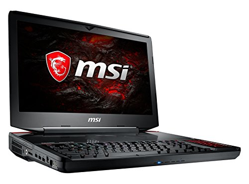 MSI GT83VR 7RE-094 Titan SLI (46,7 cm/18,4 Zoll) Gaming-Notebook (Intel Core i7-7820HK, 32GB RAM, 1 TB HDD + 256 GB SSD, Nvidia Dual GeForce GTX 1070, Windows 10 Home) schwarz GT83