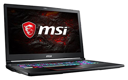 MSI GE73VR 7RE-043DE Raider (43,9 cm/17,3 Zoll/120Hz) Gaming-Notebook (Intel Core i7-7700HQ, 16GB RAM, 256 GB SSD +  1 TB HDD, Nvidia GeForce GTX 1060, Windows 10 Home) schwarz GE73