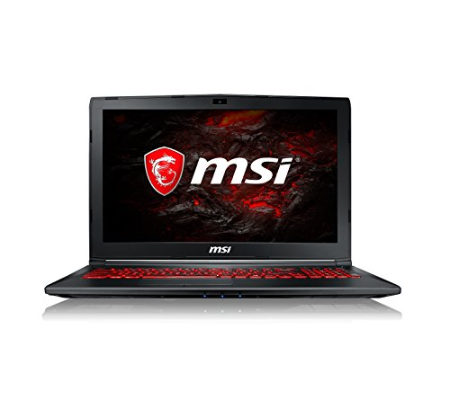 MSI GL62M 7RDX 1693UK 15.5-Inch Gaming Laptop - (Black) (Intel Core i7-7700HQ, 8 GB RAM, 128 GB SSD Plus 1 TB HDD, GeForce GTX 1050, Windows 10 Home)