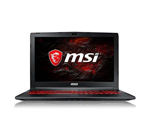 MSI GL62M 7RDX 1693UK 15.5-Inch Gaming Laptop - (Black) (Intel Core i7-7700HQ, 8 GB RAM, 128 GB SSD Plus 1 TB HDD, GeForce GTX 1050, Windows 10 Home)