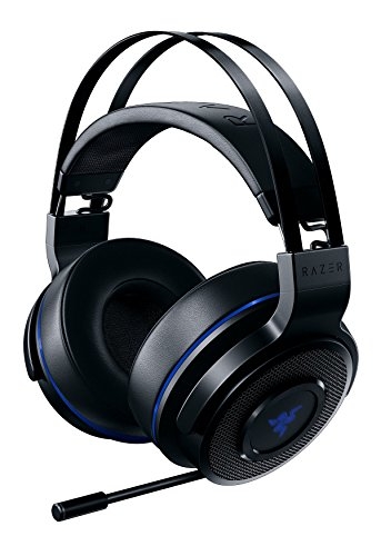 Razer Thresher 7.1 – Kabelloses Gaming Headset (für PlayStation 4, Dolby Headphone mit 7.1 Surround-Sound, 50 mm Treiber und Ausziehbares Mikrofon)