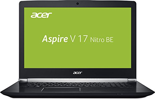 Acer Aspire V 17 Nitro Black Edition VN7-793G-5811 43,9 cm (17,3 Zoll FHD IPS matt) Gaming Notebook (Intel Core i5-7300HQ, 8GB RAM, 1TB HDD, NVIDIA GeForce GTX 1050Ti) schwarz