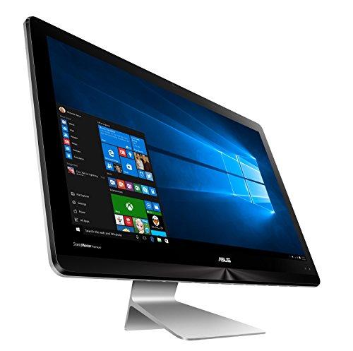 Asus ZN241ICGT-RA030T 60,4cm (23,8 Zoll) All-in-One Desktop-PC (Intel Core i7-7500U, 1TB HDD/512GB SSD, 16GB RAM, NVIDIA GeForce 940MX, Win 10 Home) grau