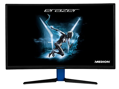 MEDION ERAZER X57425 Gaming-Monitor (Curved, Full HD, 144 Hz, FreeSync, HDMI, DisplayPort, Reaktionszeit 4ms, verstellbare Neigung) schwarz