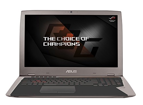 Asus ROG G701VIK-BA045T 43,9 cm (17,3 Zoll, mattes Full-HD Display, 120HZ) Gaming Notebook (Intel Core i7-7820HK, 32GB RAM, 1TB SSD, Nvidia GTX 1080 8GB VRAM, Win 10)