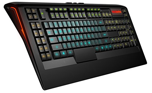 SteelSeries Apex 350 Gaming-Tastatur (22 Makro-Tasten, 5 einzelne RGB-Backlight-Zonen) - UK Tastaturlayout