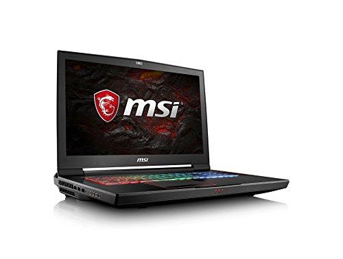 MSI GT73VR 7RF-490DE Titan Pro (43,94cm/17,3 Zoll/120Hz) Gaming-Notebook (Intel Core i7-7700HQ Kabylake, 16GB RAM, 256GB NVMe SSD + 1TB HDD, Nvidia GeForce GTX1080, Windows 10) schwarz GT73