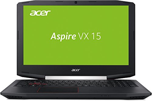 Acer Aspire VX 15 (VX5-591G-50Z1) 39,62cm (15,6 Zoll) Full HD IPS (matt) (Intel Core i5-7300HQ, 8 GB RAM, 256 GB PCIe SSD, NVIDIA, GeForce 1050 (4 GB GDDR5 VRAM), Win 10 Home) schwarz